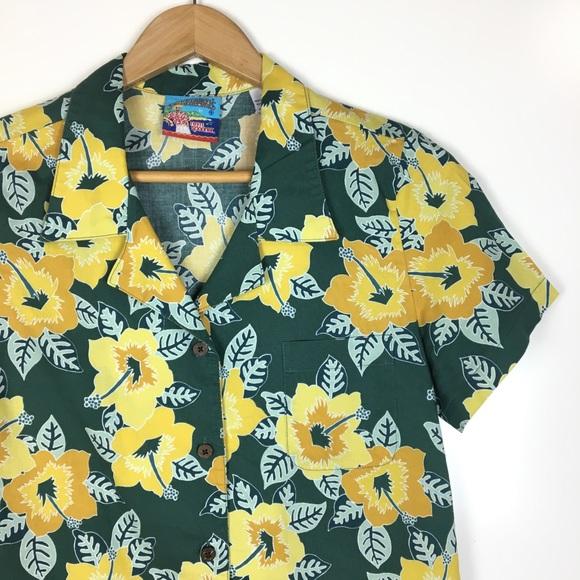 f1cddfcb reyn spooner Tops | Joe Kealoha Hibiscus Hawaiian Shirt | Poshmark